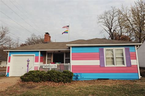 the equality house equality house painted for transgender day of remembrance updated huffpost