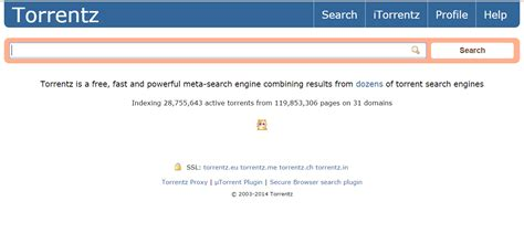 torrentz search engine torrentz eu search engine shuts down mysteriously after