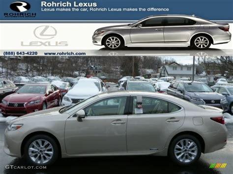 gray lexus rx 350 2013 satin cashmere metallic lexus es 300h hybrid