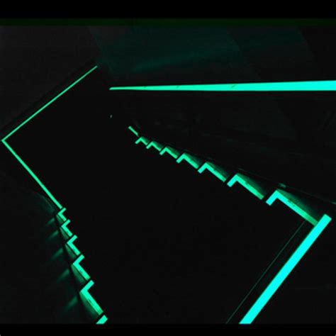 glow in the vinyl paint stairwells markings glow in the luminous