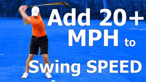 golf increase swing speed how to increase club head speed in golf swing myth busted