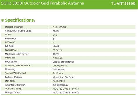 Antena Grid Kenbotong 30dbi 5 8ghz antena wifi parab 243 lica de rejilla de 30dbi 5ghz 5 8ghz