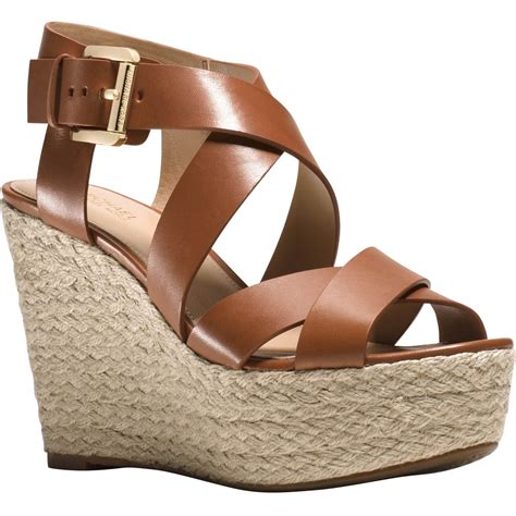 michael kors celina mid wedge shoes wedge shoes shop
