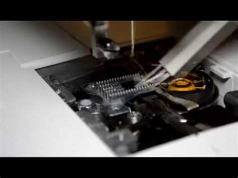 singer sewing machine feed dog adjustment youtube