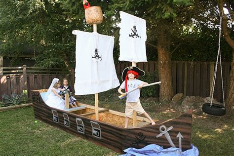 backyard pirate ship 16 best images about pirate ship on diy cardboard and the pirate