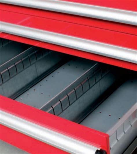 divisori per cassetti divisori fessurati x cassetto h 50mm x cassettiera