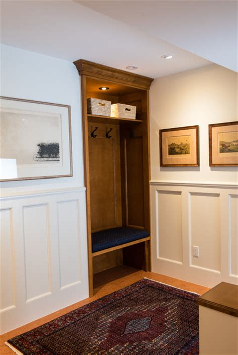 built in coat rack bench white wall paneling built in coat rack and bench