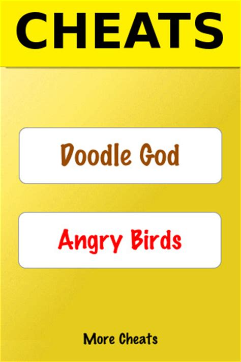 hack doodle club icheats doodle god angry birds cheats combo pack
