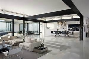 modern and sophisticated living area interior design of