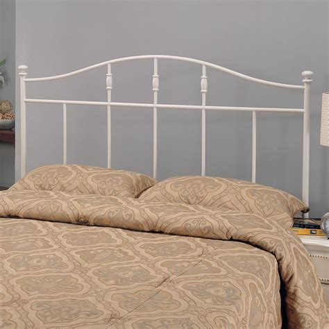 white iron headboard full coaster iron beds and headboards 300183qf full queen