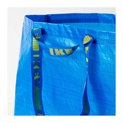 ikea bag frakta carrier bag large blue 71 l ikea