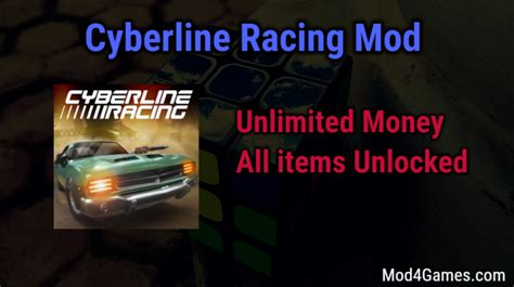 game mod offline free cyberline racing unlimited money game mod apk free with