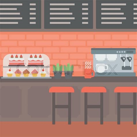 background  bakery  pastry  stock vector