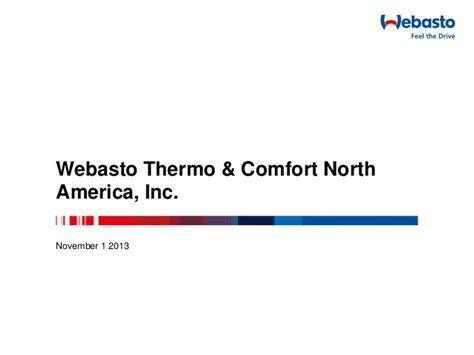 webasto thermo comfort webasto idle reduction technology presentation
