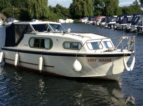 freeman boats for sale norfolk broads freeman 23 boat for sale quot lady joanne quot at jones boatyard