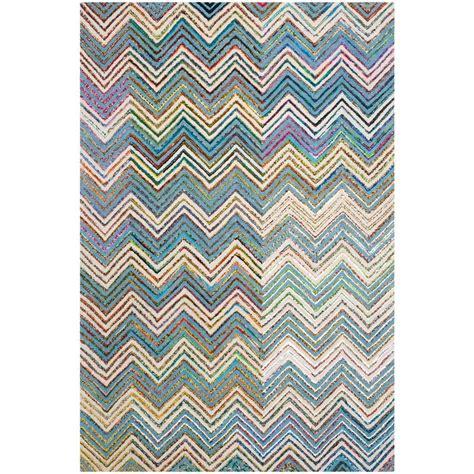 safavieh nantucket green multi 5 ft x 8 ft area rug