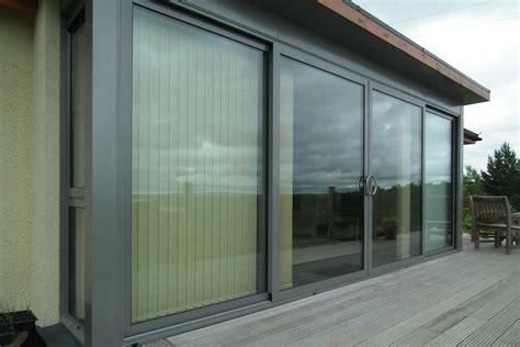 Slidind Door 2230 Series Composite Espresso 1 Lite Aluminium Sliding Patio Doors Uk