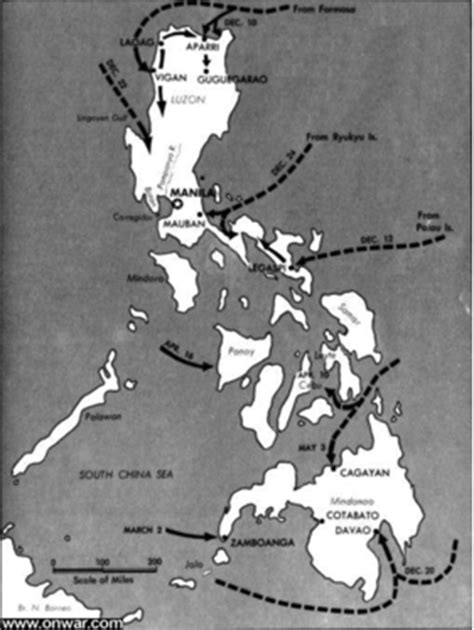 WWII Environment in the Philippines - Routes and Roots