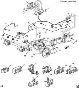 Brake Line Diagram 2004 Silverado 2002 Avalanche Brakelines Pictures To Pin On