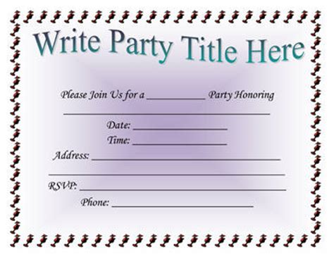 free email invitation templates for word 5 invitation templates word excel pdf templates