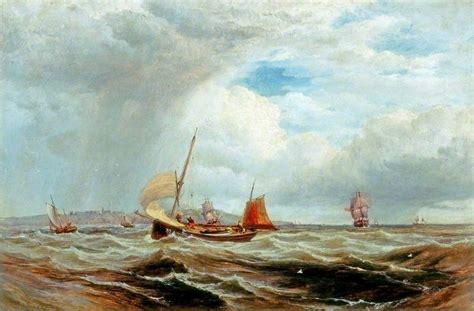 fishing boat in rough seas ships and fishing boats in rough seas art uk