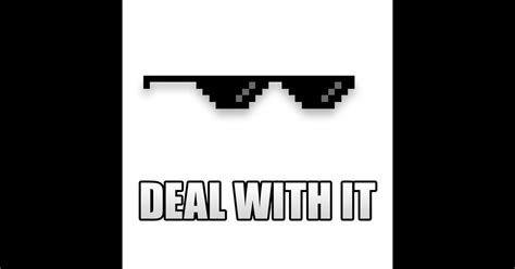 Meme Shades - deal with it on the app store