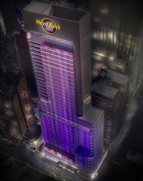 times squares hard rock hotel  ready  rise