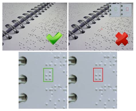 braille picture books dotscan blindenschrift inspektionssysteme dotscan for