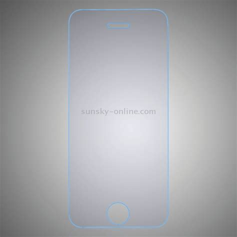 Tempered Glass Ip5s sunsky 0 3mm 2 5d anti blue explosion proof tempered glass for iphone 5s 5c 5