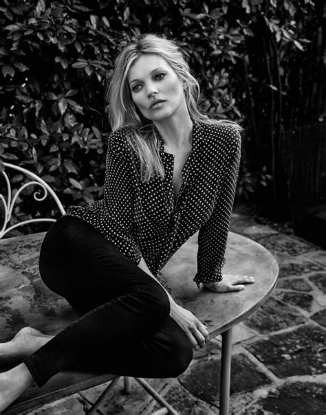 Kate Moss In by Kate Moss Models New Clothing Collab For The Edit