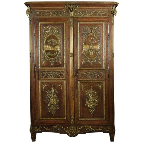 Louis Xv Armoire by Louis Xv Walnut Armoire For Sale At 1stdibs
