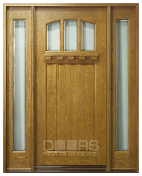 front door custom solid wood with custom finish craftsman collection custom solid wood doors front