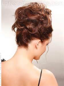 casual updo hairstyles front n back show off your beautiful curls with these curly hair updos