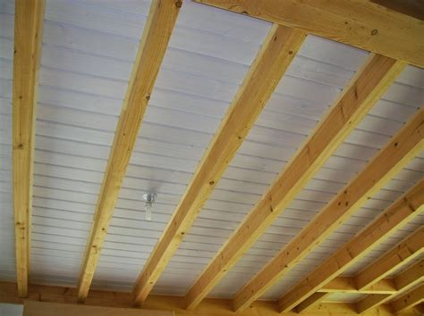Isolation Plafond Entre Poutres Apparentes by Boismetal Fpbm Un Faux Plafond Ajout 233 Entre Poutres De