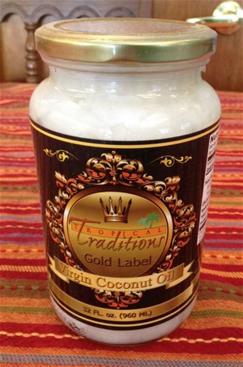 giveaway tropical traditions gold label virgin coconut oil 1 19 - Tropical Traditions Giveaway