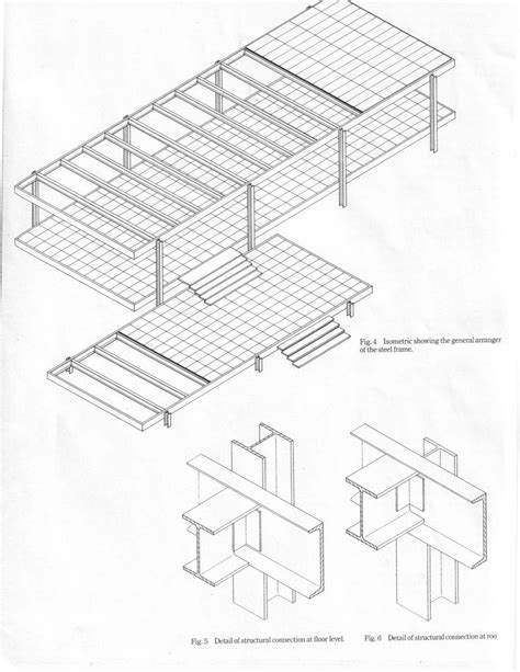 farnsworth house diagrams mies der rohe farnsworth house structure