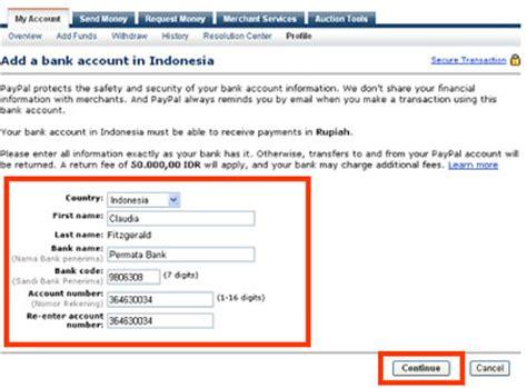 bca ubud swift code cara menambah rekening bank lokal ke paypal blog mas ajun