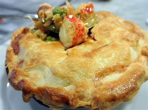 ina garten seafood pot pie lobster pot pie recipe dishmaps