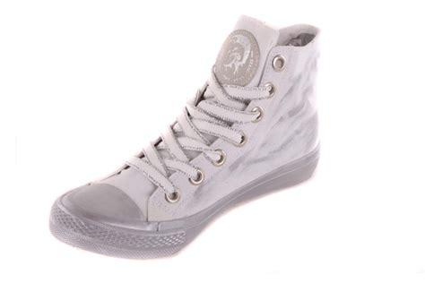 diesel womens sneakers diesel s sneakers high boots shoe white used 42 ebay