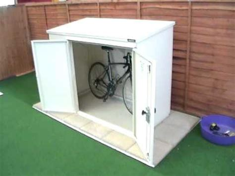 Small Bike Shed by How To Build A Small Bike Shed Storage Cabinets With Locks