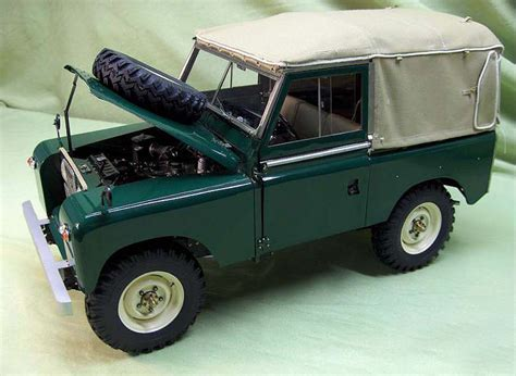 land rover models dioramas and clever things land rover model