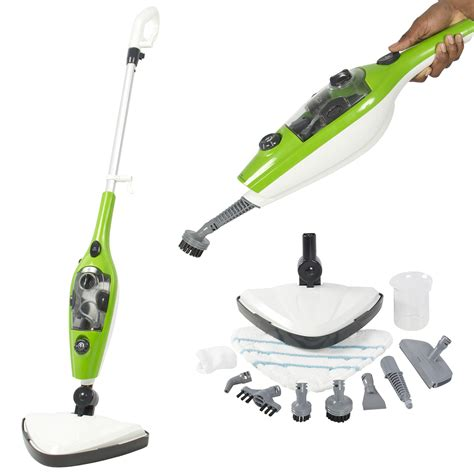 3 in 1 steam mop floor handheld steamer multi purpose