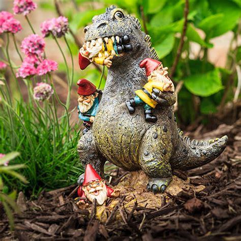garden gnome garden gnome kaiju is your garden protector technabob