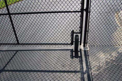 chain link swing gate chain link fence for sale ta clearwater st pete florida