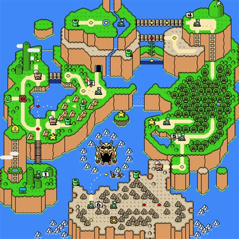 mario world map dinosaur land nintendo fandom powered by wikia