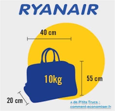 cabin baggage ryanair bagage cabine les tailles 224 respecter pour ne jamais