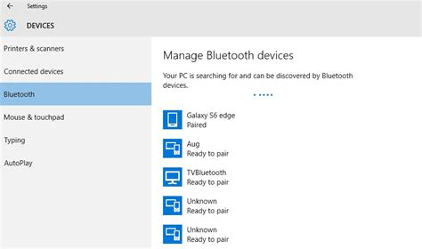 bluetooth settings android how to transfer files by bluetooth from android to windows 10