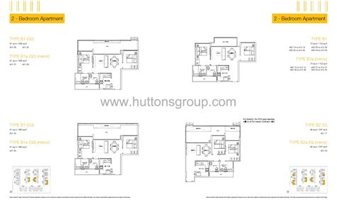 lax floor plan 2 bedroom la at sengkang