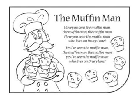 the muffin man nursery rhyme lyrics ichild