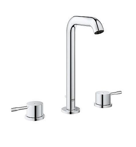 Grohe Vanity Faucets by Grohe 20431001 New Widespread Bathroom Faucet In Chrome